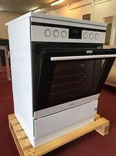 Amica SHC 11685 W EEK: A 60 cm Standherd weiß Heißluft Glaskeramik