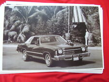 1975 CHEVROLET  MONTE CARLO   11 X 17  PHOTO   PICTURE