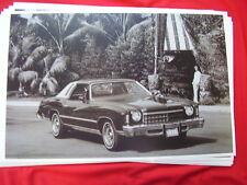 1975 CHEVROLET  MONTE CARLO   11 X 17  PHOTO   PICTURE