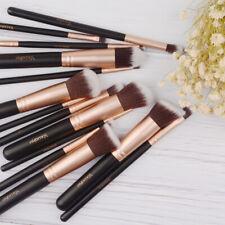 14Pcs Makeup Brush Tools Sof Cosmetic Beauty Contour Foundation Face Brushes US