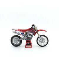 HONDA CRF Motorcycle Model Honda Racing Dirt Motorcycle Toy 1:12
