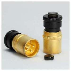 NEW BSIP2Q ACOUSTIC REVIVE XLR Short Pin Plug F/S Free shipping