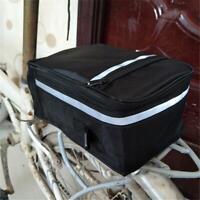 Waterproof Folding Bicycle Tail Rack Bag Mountain Bike Rear Seat Trunk Bags Pack
