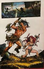 Savage Sword Of Conan Original Commission Art By: Gary Kwapisz - Signed