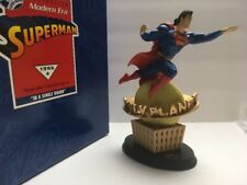 "Superman ""In a Single Bound"" Modern Era - 1996 Hallmark DC Collection Statue MIB"