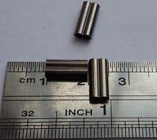 50pcs Black double copper leader sleeves crimps 1.8/10mm 190-240lb DCC18