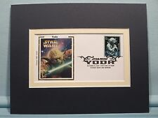 Star Wars and Star Wars First day Cover of Yoda, Jedi Master