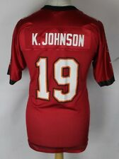 K. Johnson #19 Tampa Bay Buccaneers American Football Jersey Youths Xl Reebok