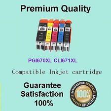 10 Canon Generic ink PGI-670 671 XL for PIXMA MG5760 MG5765 MG5766 MG8660 MG8665