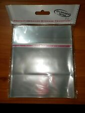 Lot of 4 CD and DVD 100-Pack Sleeves New Sealed