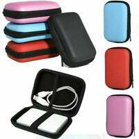 """2.5"""" Portable USB External Cable Hard Drive Disk HDD Cover Pouch Bag Carry Case"""