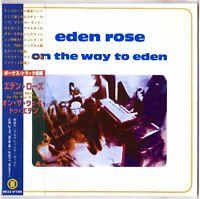 EDEN ROSE On the Way to… CD Mini LP Sleeve, Bonus Cuts w/JP Alarcen pre-Sandrose