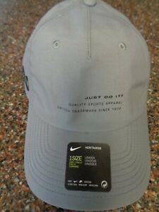 Nike Heritage86 Gray Kyrie Irving Strapback Hat DA1779-084 Cap Unisex One Size