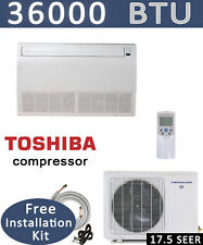 3 TON Ductless Mini Split Air Conditioner, Heat Pump CEILING FLOOR, 36000 BTU