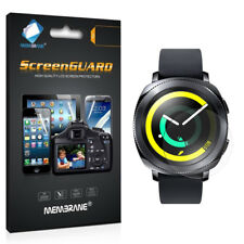 3 Pack - Clear Smart Watch Screen Cover Guards Protectors For Samsung Gear Sport