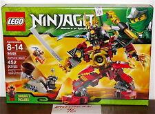 "NEW SEALED LEGO 9448 NINJAGO SAMURAI MECH ROBOT SNIKE BYTAR 9"" TALL"