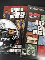 Grand Theft Auto III - Playstation 2 PS2 Game - CIB Cleaned & Tested