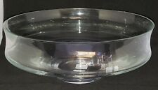 """YANKEE CANDLE Clear Glass 10"""" FLOATING CANDLE BOWL"""