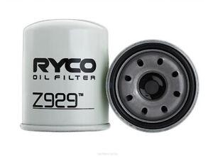 Ryco Oil Filter Z929 fits Isuzu D-Max 3.0 D, 3.0 D (RA,RC), 3.0 D 4x4, 3.0 D ...