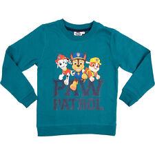 Paw Patrol Pullover für Jungen, Blau, Sweatshirt Kinder