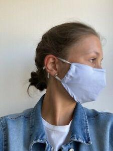 Behelfsmaske – Mund und Nase / SOFORT VERFÜGBAR / Wiederverwendung / Waschbar