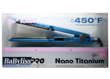 "BABNT2094TN BABYLISS PRO Nano Titanium 1¾"" Titanium-Plated Straightening Iron"