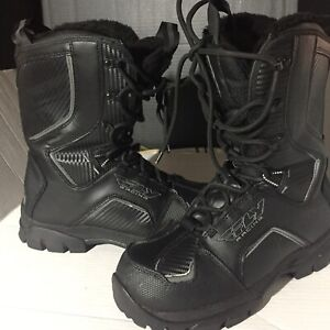 Fly Racing Black Marker Boots ( Mens Size: 10 )