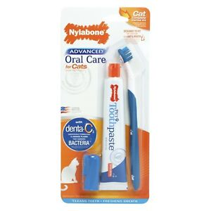 Nylabone Advanced Oral Care Cat Dental Kit
