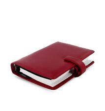 Filofax Metropol PERSONAL Size Red Organiser 026910