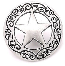"Texas Star Concho Snap Set 1"" 1265-11 by Stecksstore"