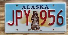 USA Nummernschild/Kennzeichen/license plate/US car/Harley/ * Alaska bear *