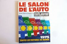 Le Salon de l'Auto 1975  l'Auto journal   /  Réf 250/ C/ 223