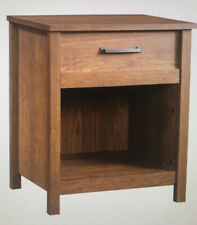 Sauder Nightstand Cannery Bridge Collection Milled Cherry Finish-New!