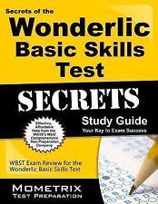 Secrets of the Wonderlic Basic Skills Test Study Guide : WBST Exam Review for...