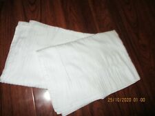 2 Mascioni (made in Italy) cotton king size pillow shams