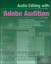 Audio Editing with Adobe Audition by Richard Riley Paperback Book The Cheap Fast