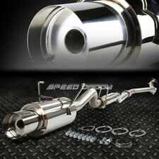 "FOR 01-05 HONDA CIVIC DX/LX EM/ES 4""MUFFLER TIP STAINLESS RACING CATBACK EXHAUST"