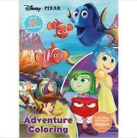 Disney Pixar Adventure Coloring With 50 Stickers (Paperback)