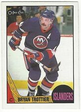 1987-88 OPC HOCKEY #60 BRYAN TROTTIER - EXCELLENT+