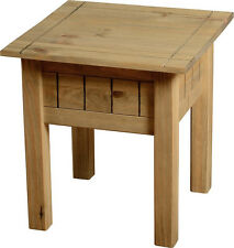 PANAMA NATURAL WAX PINE LAMP / SIDE / END TABLE *FREE NEXT DAY DELIVERY