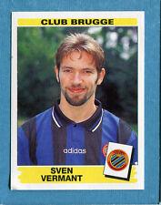 FOOTBALL 96 BELGIO Panini - Figurina-Sticker n. 114 -S. VERMANT-CLUB BRUGGE-New