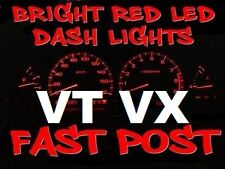 RED LED Complete Dash Cluster LCD Light Bulbs For VT VX WH Statesman Berlina