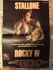 SYLVESTER STALLONE ROCKY / MüNCHENER FREIHEIT - DOUBLE-SIDED POSTER FROM BRAVO