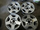 4- Chevy 1500 Factory 17 Alloy Wheels 1012d Oe 6 Lug Yukon Silverado Tahoe