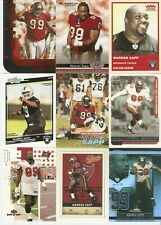 Warren Sapp 11 card lot 1 Rc Buccaneers Raiders 1995