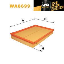 1x Wix Air Filter WA6699 - Eqv to Fram CA9391