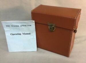 Rare 1964 E.F. Woods Bee Apidictor unit, Complete and works