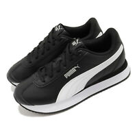 Puma Turino Stacked Black White Women Casual Lifestyle Shoes Sneakers 371115-09