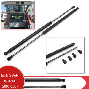 2x Rear Tailgate Hydraulic Strut Lift Support For Nissan X-Trail MKI T30 2003-07