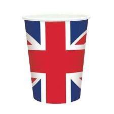 10 Union Jack Paper Cups Harry Meghan Royal Wedding Tableware Supplies Party